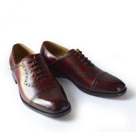 Hand painted Leather shoes
