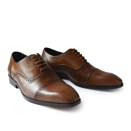 TAN BROGUE SHOES