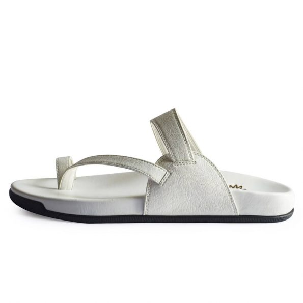 White Thong Slippers