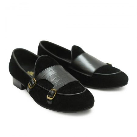 Black Suede Loafers